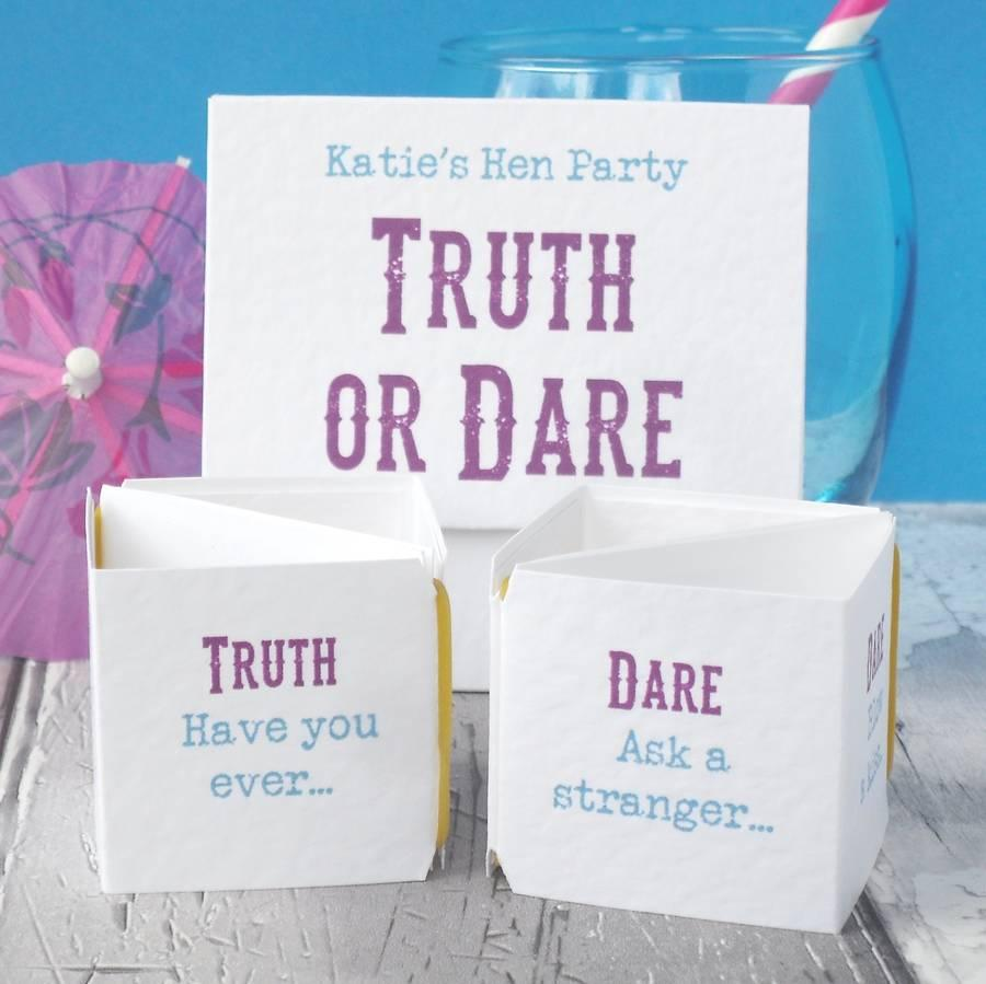 Hen Party - Truth or Dare