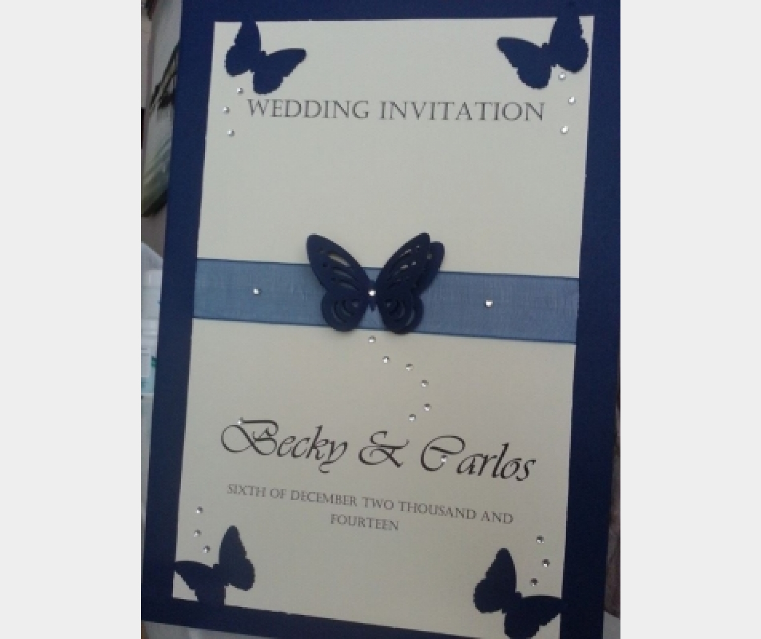 Wedding Stationery Persosnalised