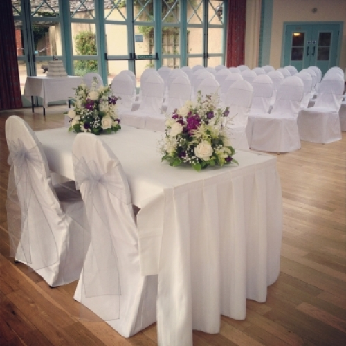 Lovely Weddings Chair Covers & Venue Styling
