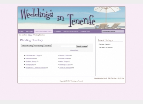 Weddings In Tenerife