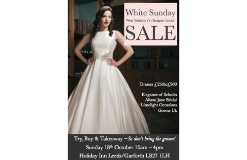White Sunday - West Yorkshire Designer Bridal Sale