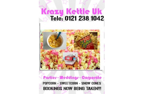 Sweetcorn, Popcorn or Slush Machine Hire For Your Wedding!!