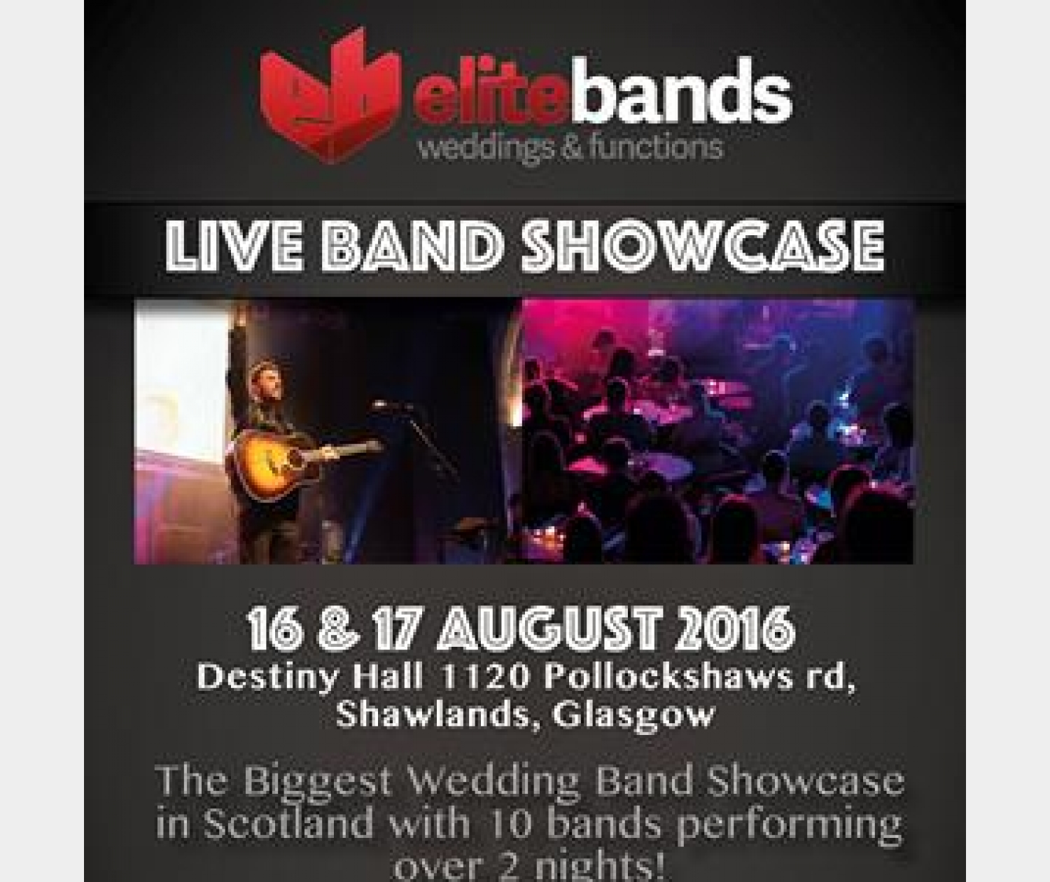 Live Wedding Band Showcase!