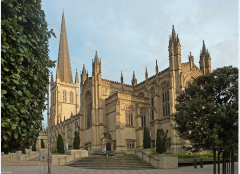 The Wedding Affair at Wakefield Cathedral