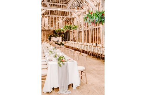 Affinity Rustic Barn Wedding Show at Redcoats The