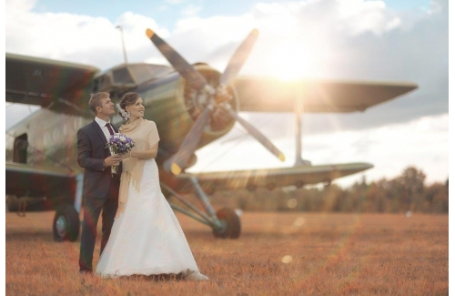 Aviator Hotel Wedding Showcase