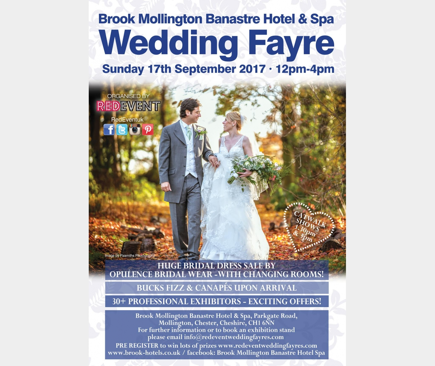 Wedding Fayre at Brook Mollington Banastre Hotel