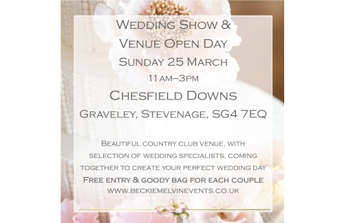 Wedding show  - Chesfield Downs Stevenage