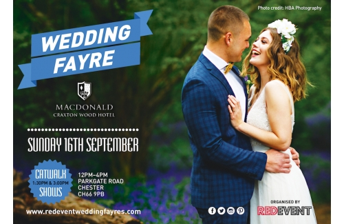 Wedding Fayre at Macdonald Craxton Wood Hotel Spa