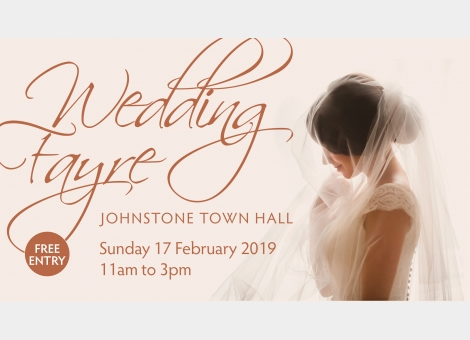 Wedding Fayre at Johnstone Town Hall