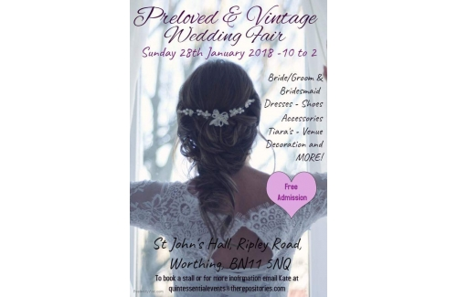 Preloved and Vintage Wedding Fayre