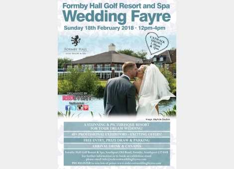 Formby Hall Golf Resort & Spa Wedding Fayre