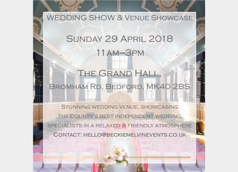 Wedding fayre & Venue showcase - Bedford