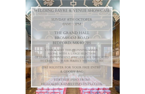 Wedding fayre  - The Grand Hall, Bedford