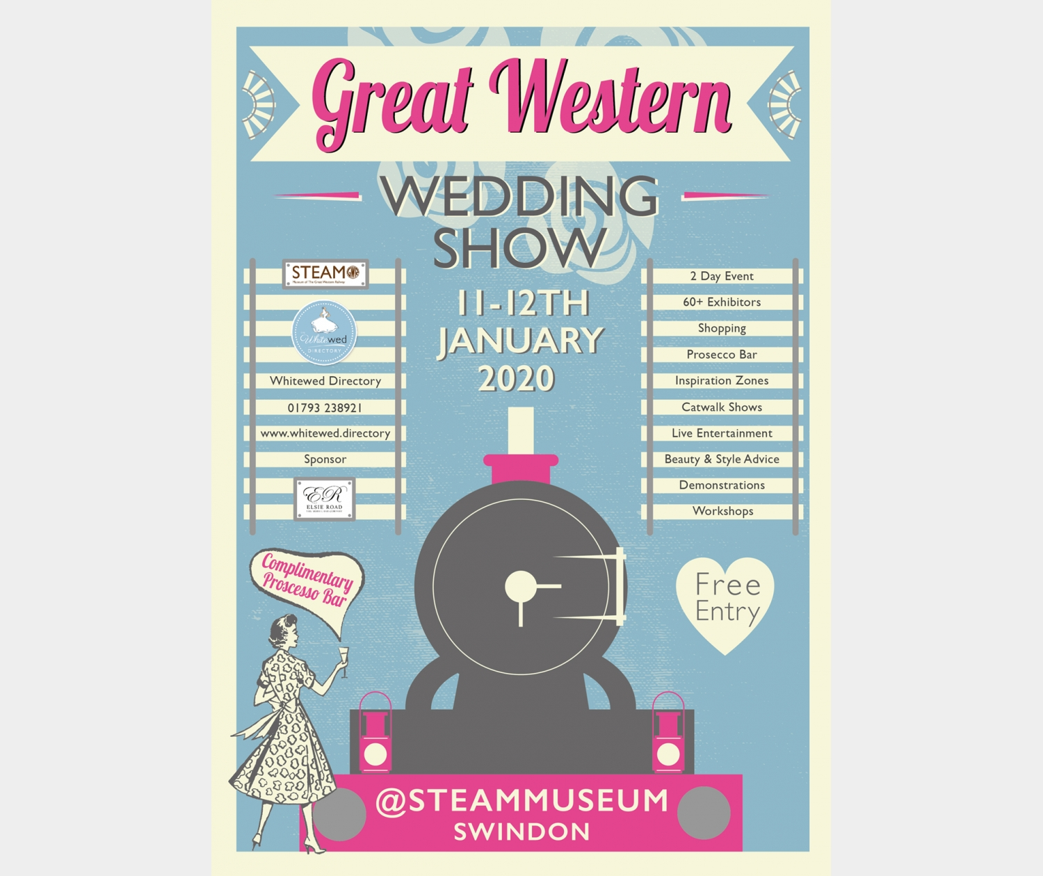 The Great Western Wedding Show (#GWWS) at STEAM
