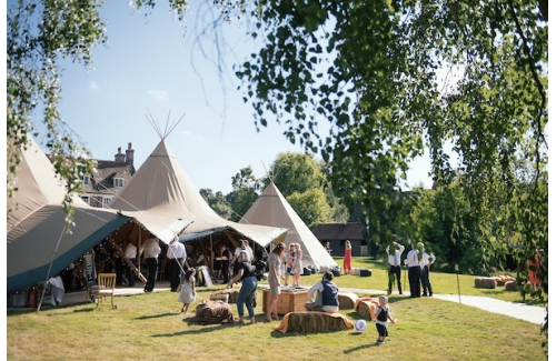 Beautiful World Tents Tipis @ Sumners Ponds