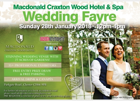 Wedding Fayre at Macdonald Craxton Wood Hotel & Sp