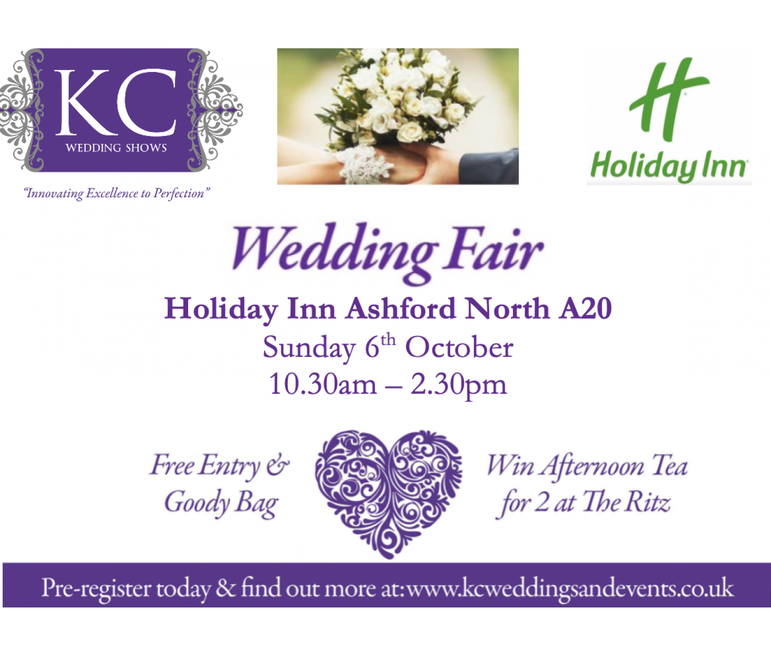 Holiday Inn Ashford North A20 Wedding Show