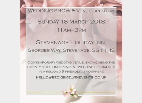 Wedding fayre & Venue showcase - Stevenage, Herts