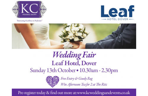 Leaf Hotel Dover Wedding Show